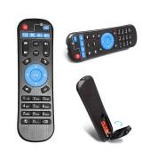 Télécommande pour box Android M8S + M8S PLUS ki plus m8s pro mecool bb2 km8 bm8 HM5 KII KIII KI M8S PRO
